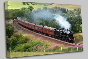 Armathwaite Steam Locomotive Train Canvas Wall Art Picture Print