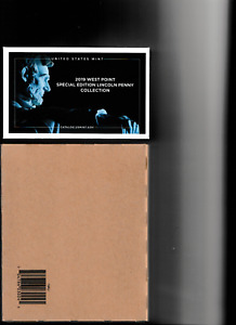 2019 UNCIRCULATED US MINT SET  UNOPENED  BOX & WEST POINT LINCOLN SP. ED. PENNY