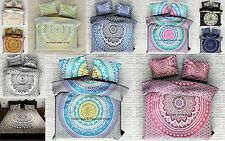 5 Pc Wholesale Lot Indian Cotton Handmade Doona Cover Duvet Cover Quilt Cover