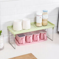 Min Standing Rack Kitchen Bathroom Countertop Storage Organizer Shelf HolderRack