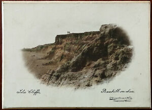 The Cliffs, Bexhill-on-Sea E A Sweetmanilson Vintage Small Print on Card Backing
