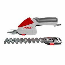 IKRA Akku Gras- und Strauchschere IGBS 1054 (mit Tasche& Messer)