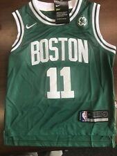 Youth #11 Nike Kyrie Irving Boston Celtics Green Swingman Jersey Size 44