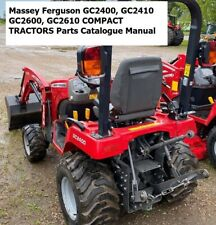 Massey Ferguson Gc2400 Gc2410 Gc2600 Gc2610 Compact Tractors Parts Manual
