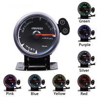 Universal 2.5'' 60mm LED Digital Car Air Fuel Ratio Gauge Racing Monitor Meter