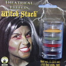 Witch Stack Makeup Wicked Face Paint Fancy Dress Up Halloween Costume Accessory