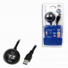 USB 3.0 Dockingkabel LogiLink CU0035 Docking Ball Verlängerung 1,5m WLAN Stick