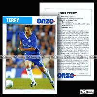 TERRY JOHN (CHELSEA FC) - Fiche Football 2005