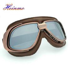 Vintage Retro Motorrad Helm Flieger Pilot Brille Flying goggles Glasses Brillen