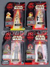Star Wars EP1 Adi Gallia Battle Droid Captain Tarpals & OOM-9 CommTech Hasbro 98