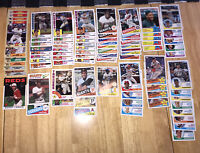 Lot Of (85) Topps 30th & 35th Anniversary Cards, Mays, Will Smith, Griffey Jr