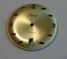 Watchmaker Dial Watch Curved Grey Golden Diameter 1 5/32in