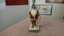 Jim Shore Christmas Traveler Santa Figurine 2006