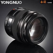 Yongnuo YN100MM F2 Medium  Prime Lens AF/ MF For Canon EOS DSLR Cameras