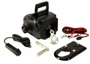 12 Volt Portable WINCH Remote Control Truck SUV Boat Car Vehicle ATV Recovery
