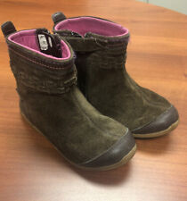 stride rite girls 10.5-Leather Patricia Boots