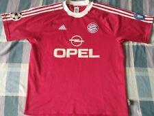 Camiseta Trikot Shirt BAYERN MÜNCHEN Munich Adidas Season 2003 Champions Size L