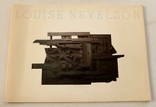 Louise Nevelson - Sculpture and collages   1981 ART EXHIBITION CATALOGUE