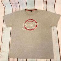 Vintage NAUTICA Big Logo T Shirt Tee Grey | X Large XL