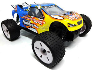 Car Remote-Controlled Electric Truggy Complete 1:16 Off Road Radio 2.4gHz Rtr