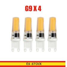 4X COB Cápsula Bombilla LED G9 blanco 3000K homologado MD LED Bombilla Lámparas