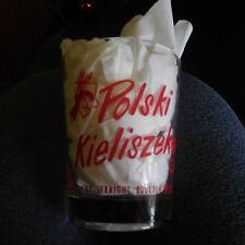 """EARLY TIMES Whiskey Glass ~ """"Polski Kieliszek"""" ~ Kazda Uncja Wodki Dla Mezczyzny"""