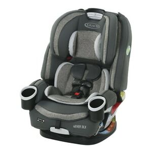 GRACO 4EVER DLX 4-IN-1 CONVERTIBLE CAR SEAT, BRYANT *DISTRESSED PKG*