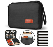 Electronic Travel Cable Organizer Bag Waterproof Accessories Soft Case