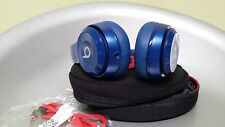 Authentic Beats by Dre Solo 2 Wired Headband Blue Headphones excellent !!!