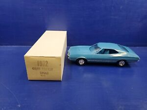 1972 Ford Gran Torino promo. Blue. Torino sport. promotional model car.