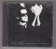 David J - Etiquette of Violence CD - 1990 Situation Two SITL8 Import Bauhaus