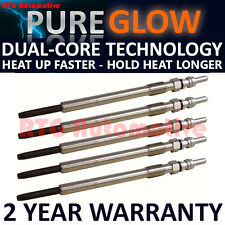 5x Diesel Heater Glow Plugs For Volvo S60 S80 V70 XC70 Cross Country XC90 2.4 D