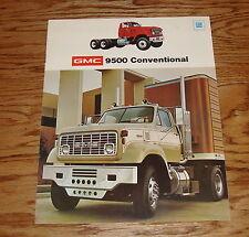 Original 1974 GMC Truck 9500 Conventional Sales Brochure 74