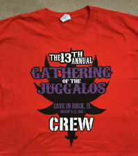13th Annual Gathering of the Juggalos 3XL T shirt 2012 Insane Clown Posse ICP