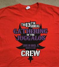 13th Annual Gathering of the Juggalos 3Xl T shirt 2012 Insane Clown Posse Icp