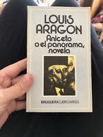 Aniceto O El Panorama di LOUIS ARAGON Prima edizione