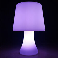 NEW! LED COLOR CHANGING PORTABLE TABLE LAMP - CAMPING LIGHT - CORDLESS/WIRELESS