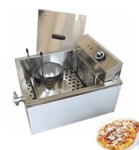 TECHTONGDA 110V Stainless Steel Multi-Purpose Funnel Cake Fryer for Donuts etc.