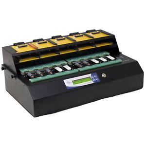 EZ Dupe 1 to 9 PCIe M.2 NVMe / SATA Internal SSD Duplicator & Sanitizer 36GB/Min