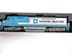 Kato USA N gauge 176-9241-LS EMD SDP40F Maersk #6976 New  No Reserve
