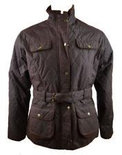 Cappotti e giacche da donna marrone in cotone con bottone