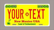 """NEW MEXICO custom novelty license plate-your name or text 6""""x12"""""""