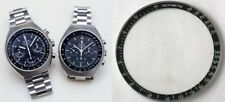 OMEGA SPEEDMASTER MARK III BLACK BEZEL INSERT with attached GLASS 176.015