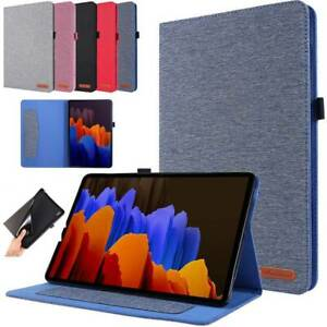 Fr Samsung Galaxy Tab S7 plus 12.4 T970 11.0 T870 Smart Leather Stand Case Cover