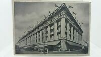 Vintage Postcard of Selfridges Building London 1937 Written in The Writing Rooms
