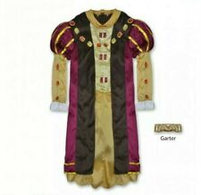 + Medieval King Henry VIII Costume Boys Age 4-6 Fancy Dress Outfit Bookday 65:13