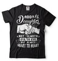Dad Daughter Mens T-shirt Fathers day Gift Mens Shirt Dad of Daughter Tee Shirt