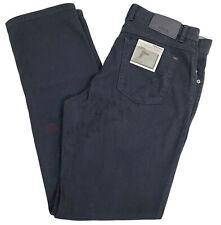 BRAX Cooper Fancy Flex Two Tone Cotton Stretch Pants Regular Fit 831427/23 Navy