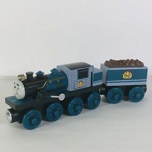 Thomas The Train Ferdinand with Tender Wooden Railway Tank Engine Friends