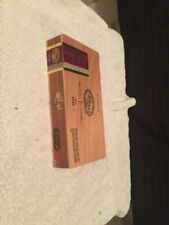 5x9 1/2x1 1/2 Hand Crafted Nicaragun Wood Cigar Box